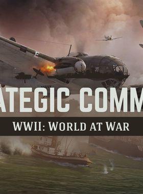 Strategic Command WWII: World at War Key Art
