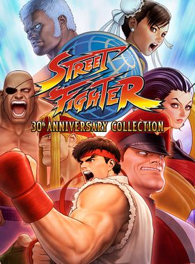 Street Fighter: 30th Anniversary Collection Key Art