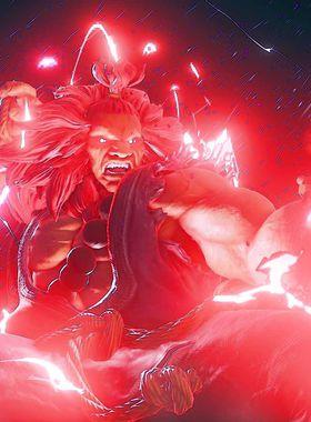 Street Fighter 5 Key Art