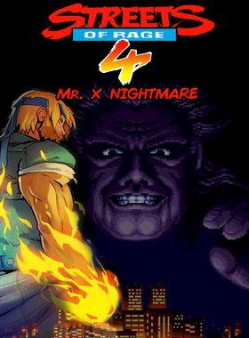 Streets Of Rage 4 - Mr. 10 Nightmare Key Art