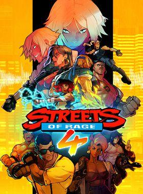 Streets of Rage 4 Key Art