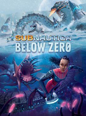 Subnautica Below Zero Key Art