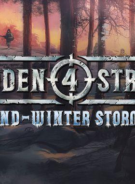 Sudden Strike 4 - Finland: Winter Storm Key Art