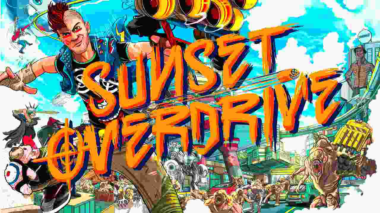 Sunset Overdrive Background Image
