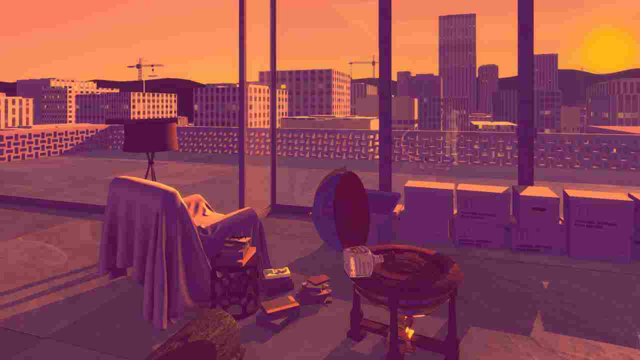 Sunset Background Image