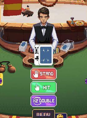 Super Blackjack Battle 2 Turbo Edition - The Card Warriors Key Art