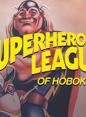 Super Hero League of Hoboken Key Art