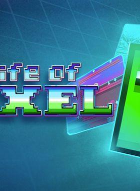 Super Life of Pixel Key Art