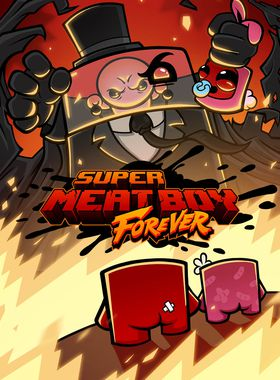 Super Meat Boy Forever Key Art