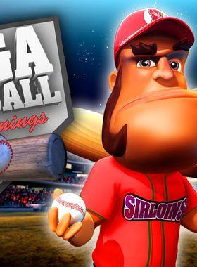 Super Mega Baseball: Extra Innings Key Art