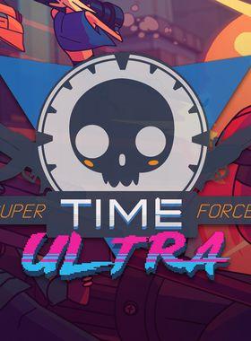 Super TIME Force Ultra Key Art
