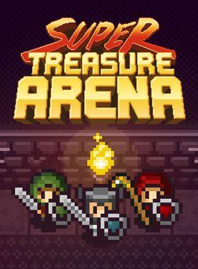 Super Treasure Arena Key Art