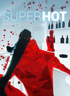 Superhot Key Art