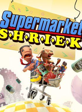 Supermarket Shriek Key Art
