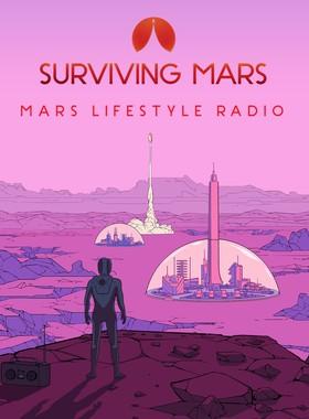Surviving Mars: Mars Lifestyle Radio Key Art