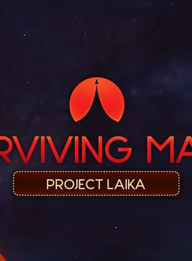 Surviving Mars: Project Laika Key Art