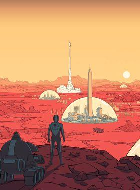 Surviving Mars Key Art