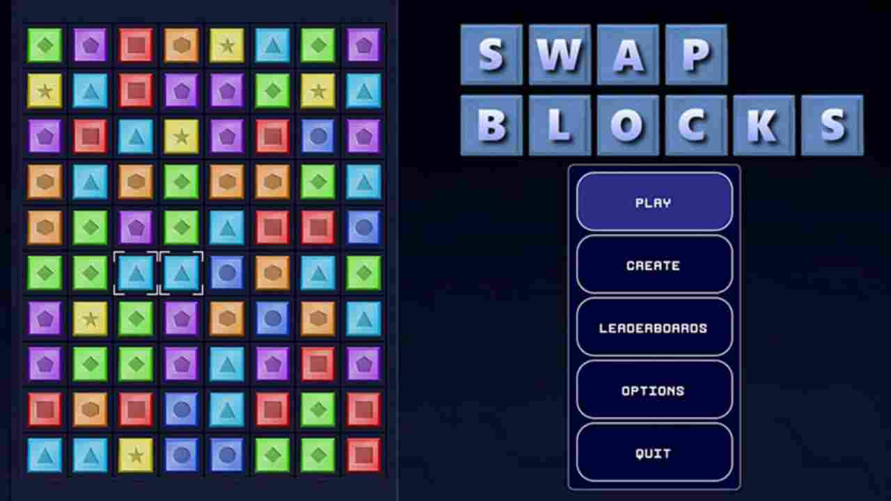 Swap Blocks Background Image