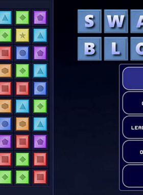Swap Blocks Key Art