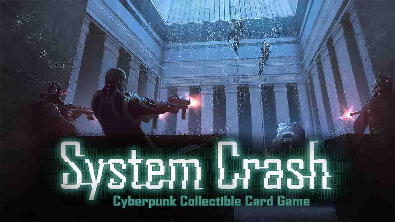 System Crash Background Image
