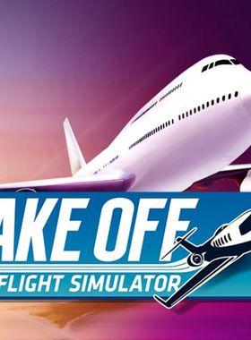 Take Off - The Flight Simulator Key Art