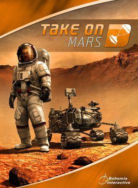 Take On Mars Key Art