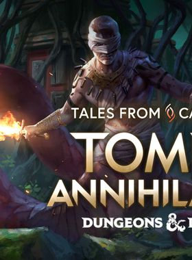 Tales from Candlekeep: Tomb of Annihilation Key Art