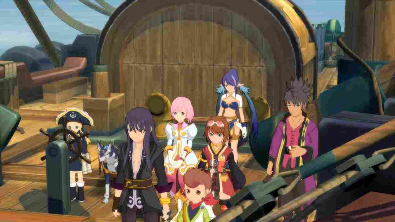 Tales of Vesperia: Definitive Edition Background Image