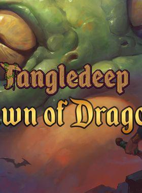Tangledeep - Dawn of Dragons Key Art