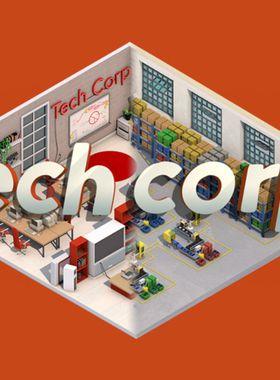 Tech Corp. Key Art