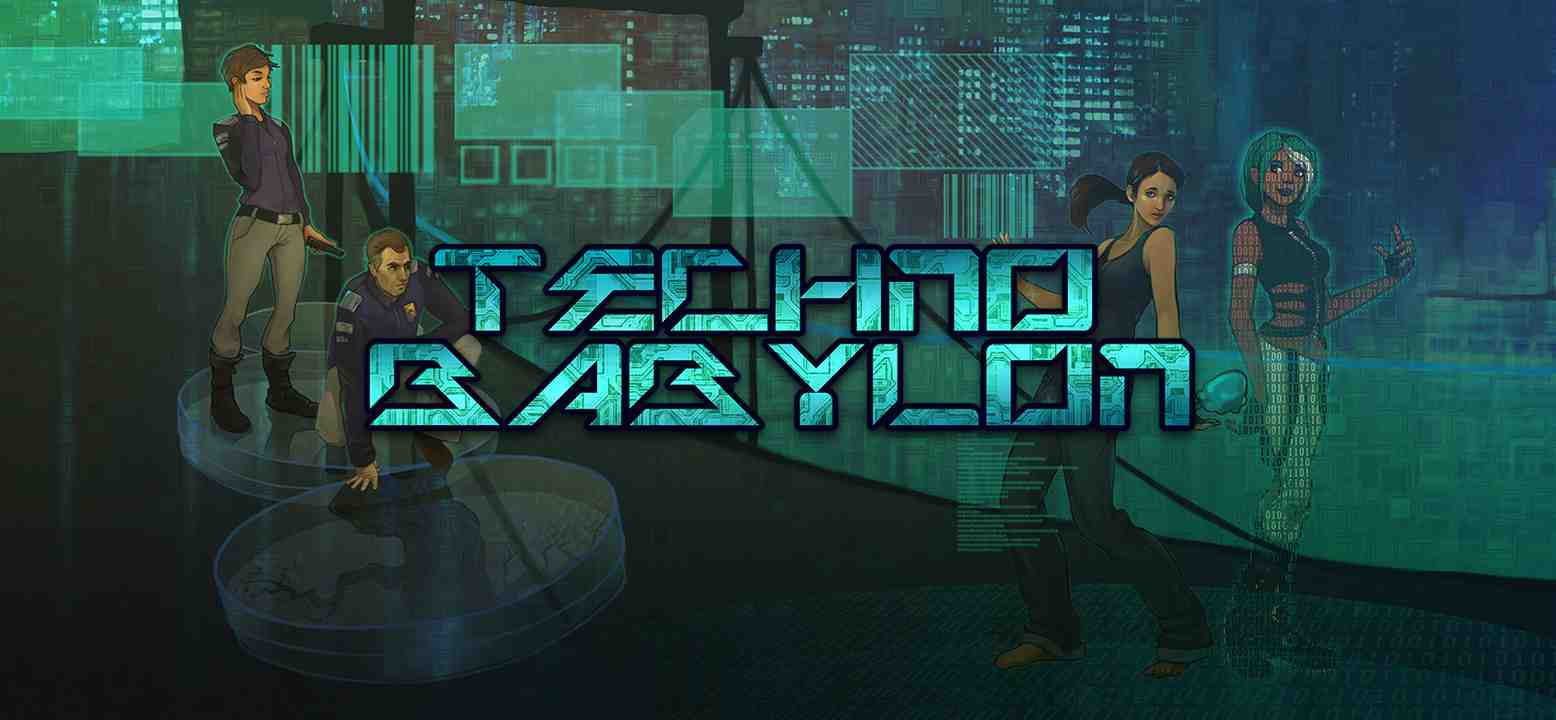 Technobabylon Background Image