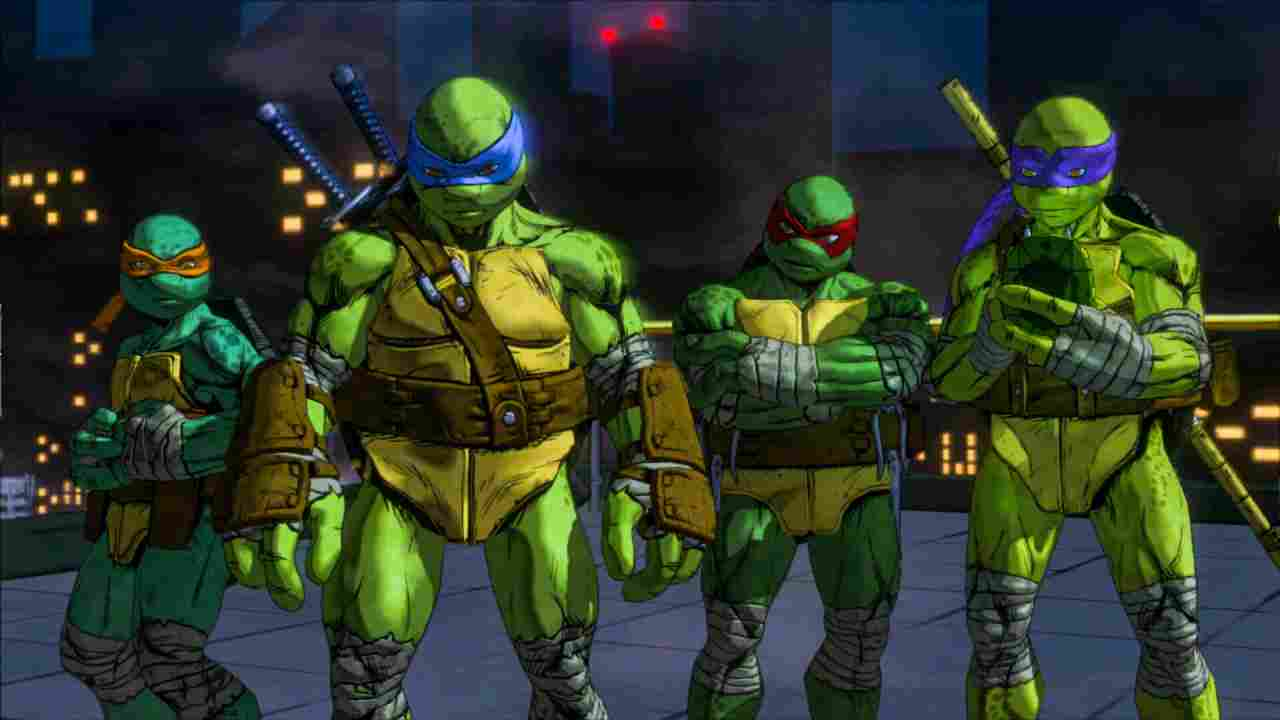 Teenage Mutant Ninja Turtles: Mutants in Manhattan Background Image