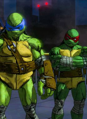 Teenage Mutant Ninja Turtles: Mutants in Manhattan Key Art