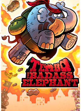 TEMBO THE BADASS ELEPHANT Key Art
