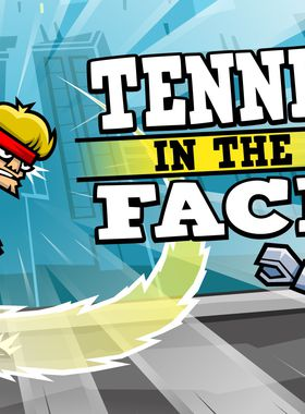 Tennis in the Face Key Art