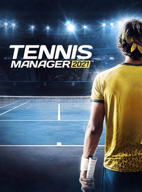 Tennis Manager 2021 Key Art