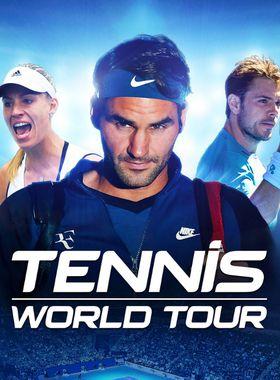 Tennis World Tour Key Art