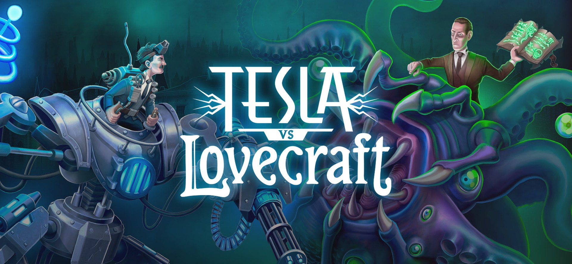 Tesla vs Lovecraft Video