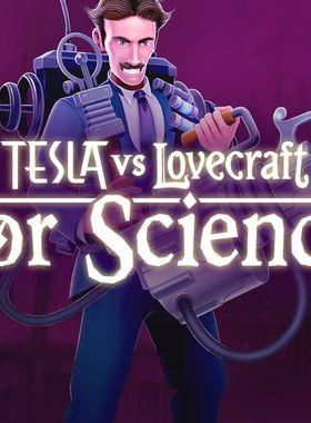 Tesla vs Lovecraft: For Science! Key Art