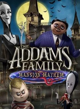 The Addams Family: Mansion Mayhem Key Art