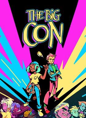 The Big Con Key Art