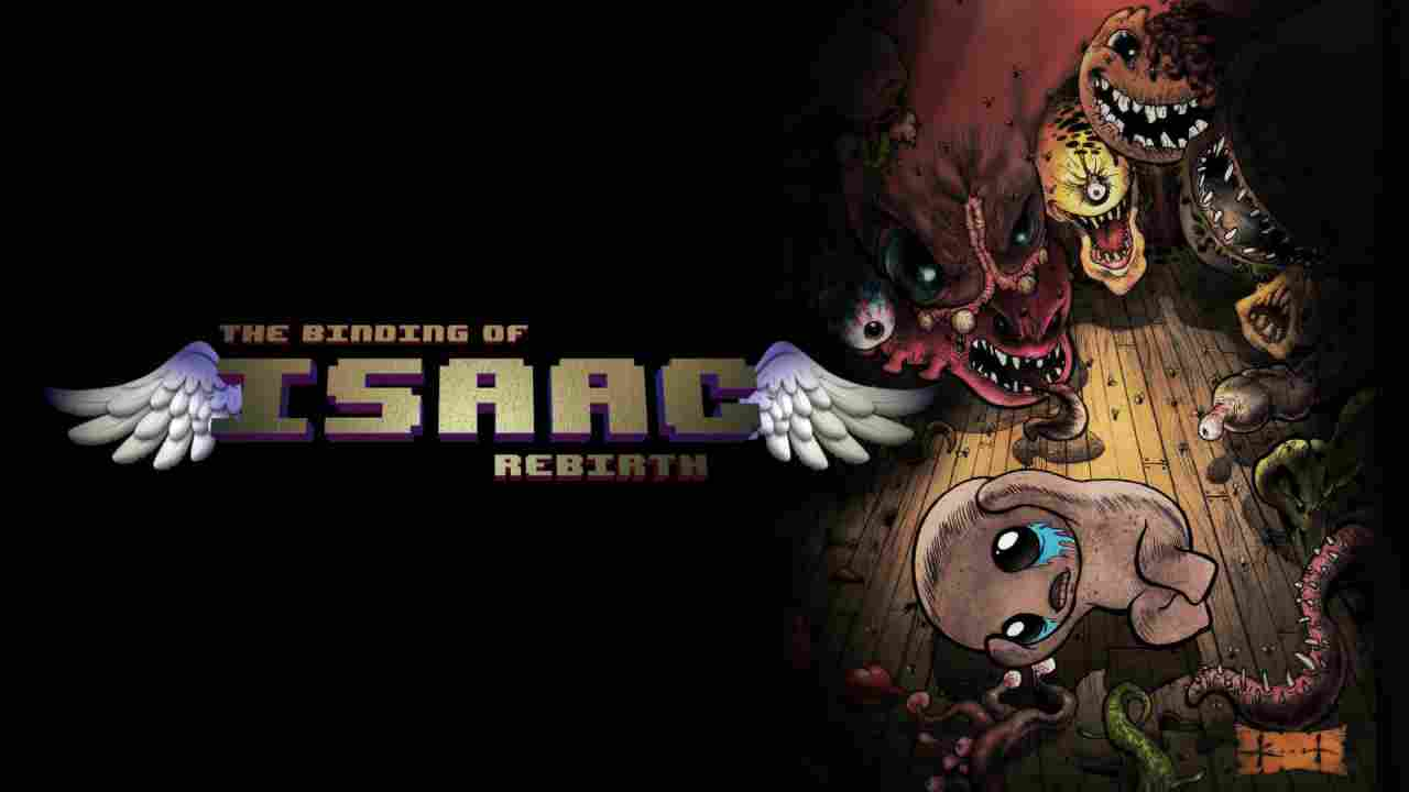 The Binding of Isaac: Rebirth Background Image