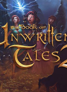 The Book of Unwritten Tales 2 Key Art