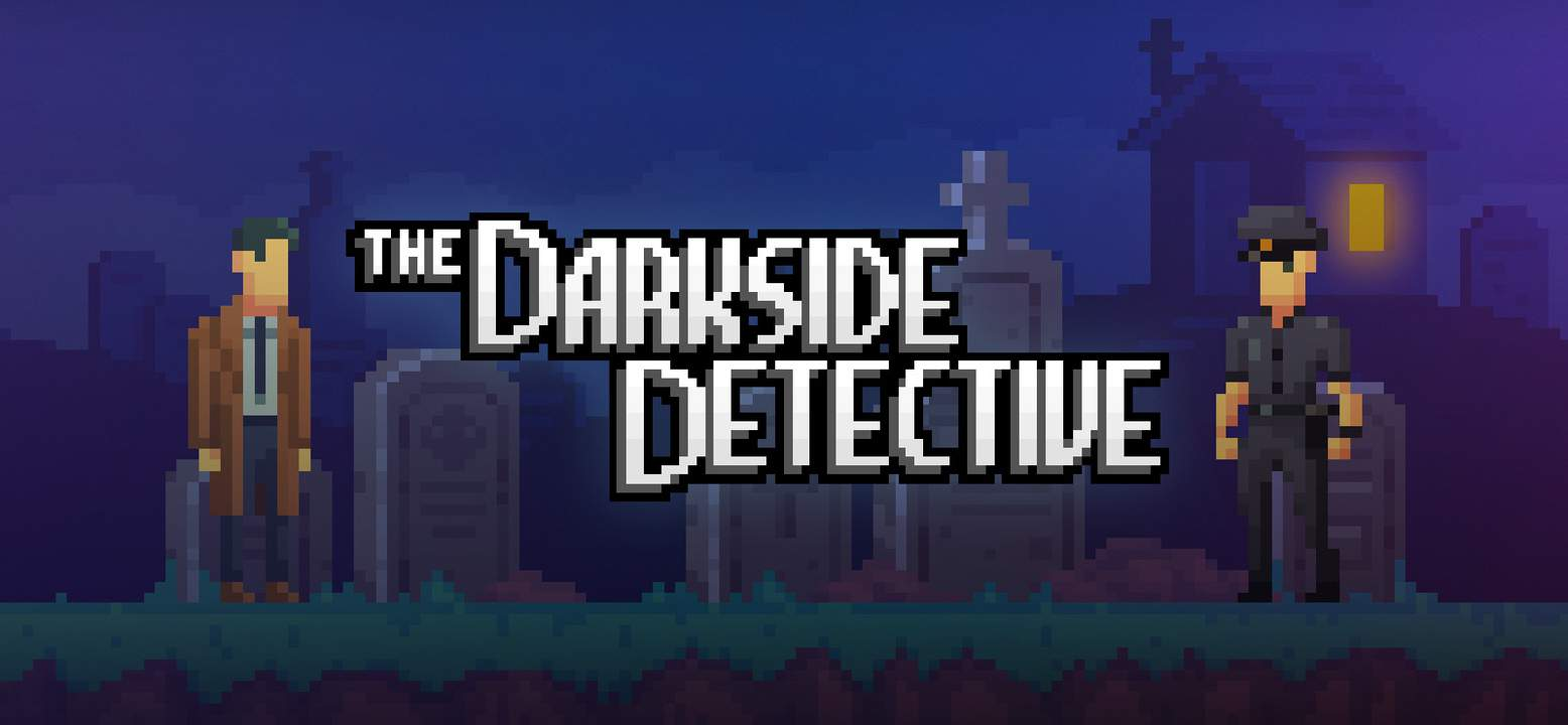 The Darkside Detective Background Image