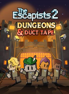 The Escapists 2 - Dungeons and Duct Tape Key Art