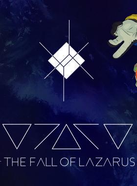 The Fall of Lazarus Key Art