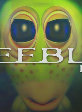 The Feeble Files Key Art