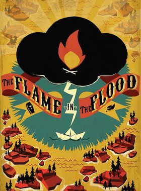 The Flame in the Flood Key Art