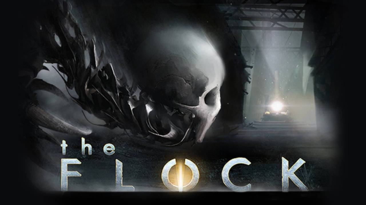 The Flock Background Image