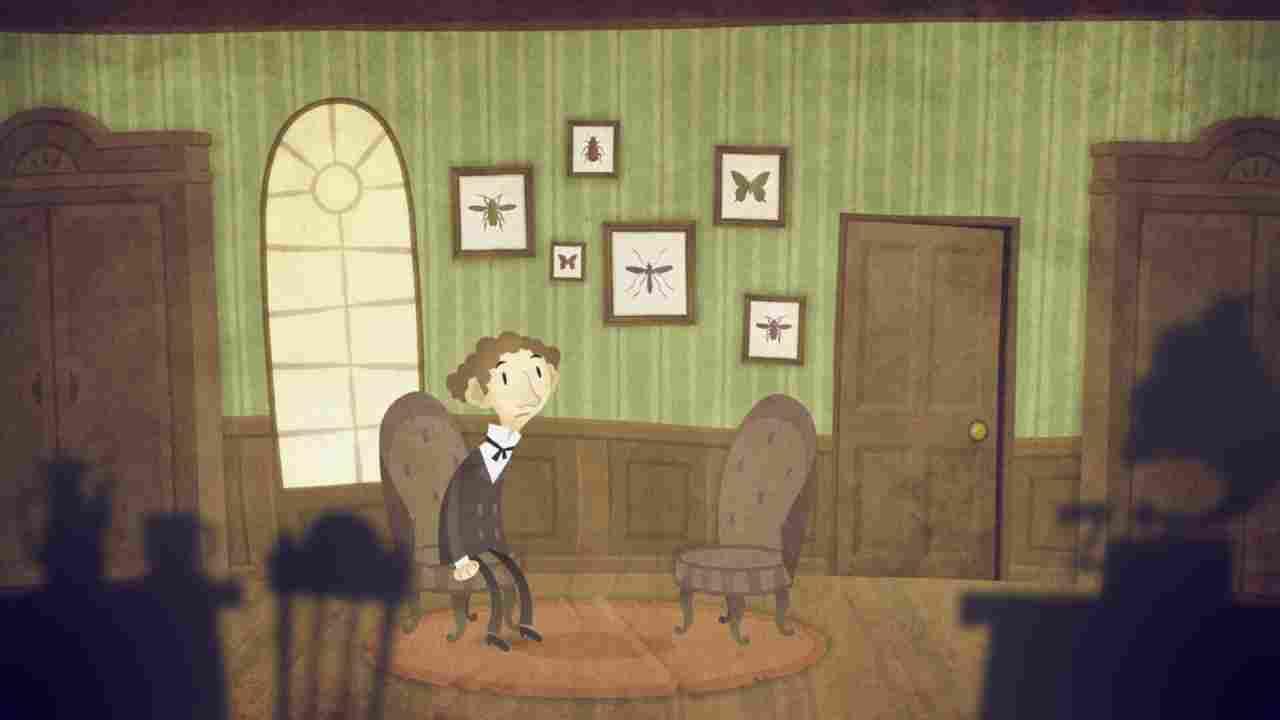 The Franz Kafka Videogame Background Image